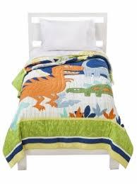 circo dino friend stitched twin bed quilt dinosaur comforter