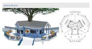104 Tree House Floor Plan Village One Community Pod 7