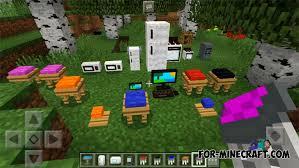 Furniture mod Minecraft PE 1 2