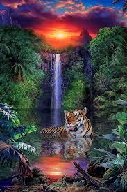 100 Christian Lassen Artist Tiger Falls Riese Pictures Pinterest