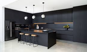 100 Sophisticated Kitchens Black Beauty A Bold Kitchen With Silestone Negro Tebas By