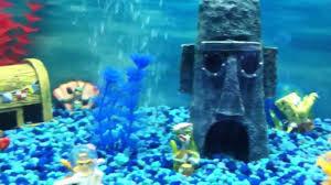 Spongebob Fish Tank Decor Set by Sponge Bob Fish Tank Youtube