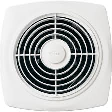 Humidity Sensing Bathroom Fan Wall Mount by Broan 509 Through Wall Fan 180 Cfm 6 5 Sones White Square