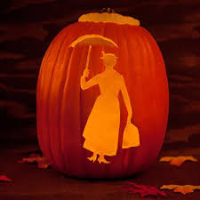 Pumpkin Patterns To Carve by Mary Poppins Pumpkin Template Disney Family
