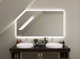 spiegel mit dachschräge fürs bad tommen