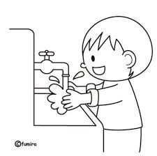 Lavado De Manos HABILIDADES ADPTATIVAS Coloring Sheets For Kids