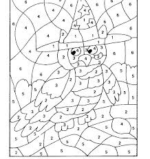 Sandbox Color By Number Coloring Pages Online Free Printable