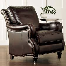 Oxford fortable Leather Chair by Bassett Furniture