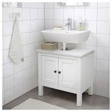 hemnes waschbeckenunterschrank 2 türen weiß 60x38x63 cm