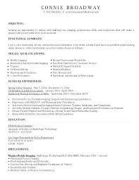 Sample Resume Radiologic Technologist Diagnostic Radiography Gy Templates X Ray Tech Samples