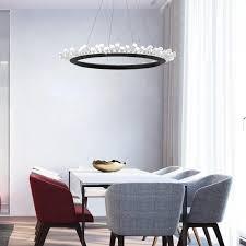 großhandel nordischer kristallleuchter gold schwarz postmoderne transparente kristallle designer ring wohnzimmer esszimmer leuchte founders