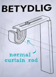 No Drill Curtain Rods Ikea by Installing And Hemming Ikea Curtains Diy Playbook