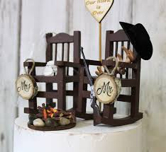 Hunting Wedding Cake Topper, 6