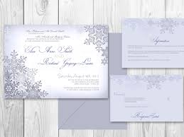 Winter Wedding Invitations Is One Of The Best Idea For You To Make Your Own Invitation Design 15