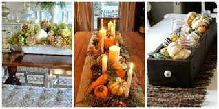 Fall Centerpieces For Dining Room Table