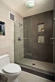 Tile Bathroom Designs For Small Bathrooms Modern Walk In Showers