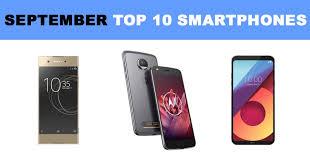 Clove s top 10 smartphones September 2017