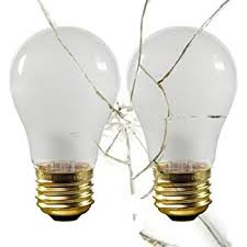 shatterproof light bulb 40 watts a15 appliance bulb