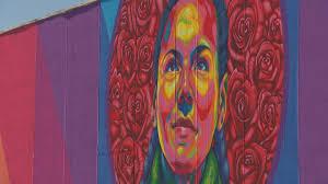 Denver Airport Murals Painted Over by Denver Artist Fights Crime With Art Cbs Denver