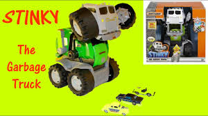 STINKY THE GARBAGE TRUCK - Matchbox Stinky Vehicle Toy Review ... Matchbox Big Rig Buddies Scrap Yard Adventure Playset Review Real Workin Talking Garbage Truck Mr Dusty Toysrus Gift Idea Wvol Friction Powered Only 824 Amazoncom Sweep N Keep Toys Games Mattel Stinky The Kids Interactive Sing The Walmartcom Salvage Transformers Rescue Stinky Garbage Truck In Blyth Northumberland Gumtree Hobbies Tv Movie Character Find Target Best In Word 2017