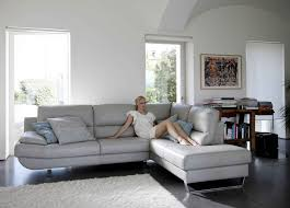 100 Sexy Living Rooms Lounge Design Full Leather Grey Sectional