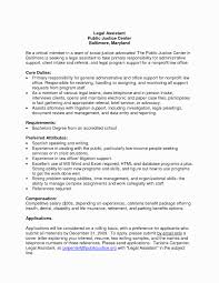 Hr Administrative Assistant Resume Inspirational Sample Cover Letters For Image Of
