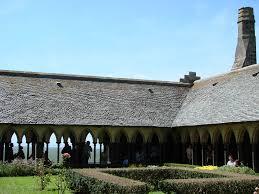 chambre d hote le mont st michel le cloître de l abbaye du mont michel catherine leclerc