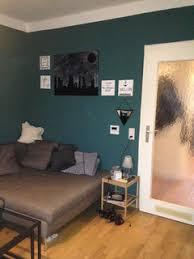 petrolfarbenes wohnzimmer dekotipps