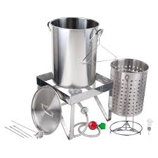 Backyard Pro All Stainless Steel 30 Qt. Turkey Fryer Kit / Steamer ... Backyard Pro 30 Quart Deluxe Turkey Fryer Kit Steamer Food Best 25 Fryer Ideas On Pinterest Deep Fry Turkey Fry Amazoncom Bayou Classic 1195ss Stainless Steel 32 Accsories Outdoor Cookers The Home Depot Ninja Kitchen System 1500 Canning Supplies Replacement Parts Outstanding 24 Basic Fried Tips Qt Cooking 10 Pot Steel Fryers Qt