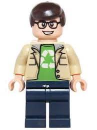 new d44 leonard hofstadter minifigure lego the big