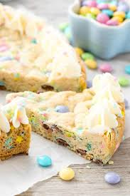 Easter Sugar Cookie Cake Crazy For Crust