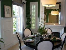 Table Decorating Black Dining Room Modern Design 19 On Ideas