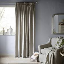 Fabric Curtains John Lewis by Buy John Lewis Croft Collection Curtain Pole Kit Grey Dia 35mm