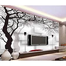 fototapete 3d effekt tapete handgezeichnete schwarze und weiße wand abstrakte baum vliestapete 3d wallpaper rne wanddeko wandbilder