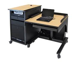 Bush Desk Series C by Freedom One Sit To Stand Lectern Adjustable Height Lecterns