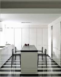 Designing Decorating A Black And White Kitchen