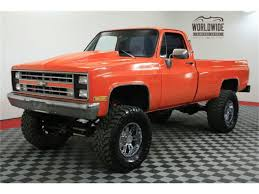 100 1986 Chevy Trucks For Sale Chevrolet Pickup For ClassicCarscom CC1049719