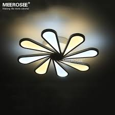 modern led ceiling light 8 lights led white acrylic recessed