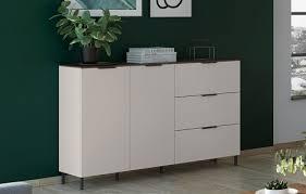 cary sideboard wohnzimmer anrichte kommode weiß marmor