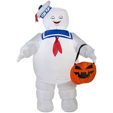 Disney Halloween Airblown Inflatables by Airblown Inflatable Stay Puft Marshmallow Man