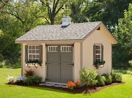 10x14 Garden Shed Plans by Cute Garden Shed Plans Heritage Amish Shed Kit 10 X 16 Yard