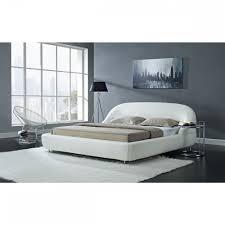 Inspiring Idea White Modern Bed Charming Decoration Madison White