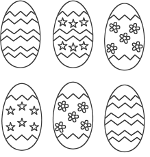 Marvelous Idea Easter Egg Coloring Pages Stunning Eggs Images