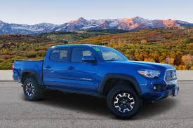100 Trucks For Sale In Colorado Springs PreOwned 2016 Toyota Tacoma TRD Off Road Crew Cab Pickup In