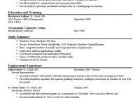 Whats A Good Resume Objective 15 Chic Inspiration What Looks Like 14 Examples Resumes Example Of