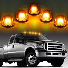100 Truck Marker Lights Details About 5x264146CL Clear Amber LED Cab Roof Running For SUV Off Road