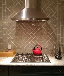 glass subway tile kitchen taste