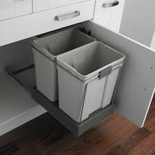 Under Cabinet Trash Can Pull Out by Under Sink Trash Can Candiceaccolaspain Com