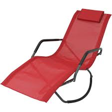 Sunnydaze Decor Red Folding Rocker Sling Outdoor Lounge Chair With Pillow Recliners Lounge Chair Sun Lounger Folding Beach Outsunny Outdoor Lounger Camping Portable Recliner Patio Light Weight Chaise Garden Recling Beige Hampton Bay Mix And Match Zero Gravity Sling In Denim Adjustable China Leisure With Pillow Armrest Luxury L Bed Foldable Cot Pool A Deck Travel Presyo Ng 153cm 2 In 1 Sleeping Magnificent Affordable Chairs Waterproof Target Details About Kingcamp Gym Loungers