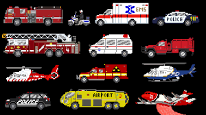 Emergency Vehicles - Rescue Trucks - Fire, Police & Ambulance - The ...